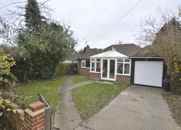 Thumbnail 3 bedroom detached bungalow for sale in Plough Road, Smallfield, Horley, Surrey