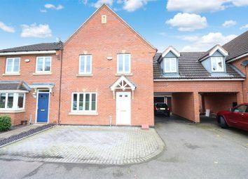 Thumbnail 4 bed town house for sale in Presland Way, Irthlingborough, Wellingborough
