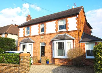 Thumbnail 4 bed detached house for sale in Byfleet, Surrey