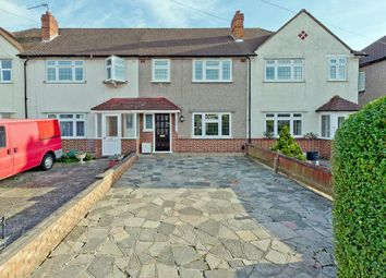 Thumbnail 3 bed terraced house for sale in Danetree Road, West Ewell, Epsom