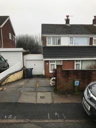 Thumbnail 3 bed semi-detached house to rent in Westsprink Crescent, Weston Coyney, Stoke-On-Trent