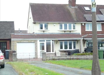 Thumbnail 3 bed semi-detached house for sale in Kitchen Lane, Wednesfield, Wednesfield