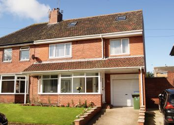 Thumbnail 4 bed semi-detached house for sale in Southward, Seaton Sluice, Whitley Bay