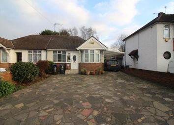 Thumbnail 4 bed semi-detached bungalow for sale in Curzon Avenue, Ponders End, Enfield