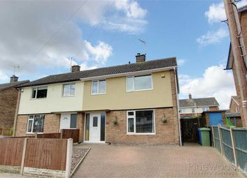 Thumbnail 3 bed semi-detached house to rent in Queens Court, Forest Town, Mansiifild