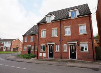 Thumbnail 4 bed town house for sale in Brook Street, Shepshed