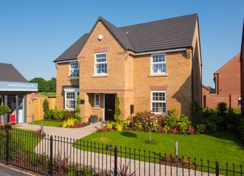 """Thumbnail 4 bed detached house for sale in """"Winstone"""" at Welland Close, Burton-On-Trent"""