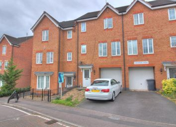 Thumbnail 3 bed town house for sale in Oakwood Road, Leicester