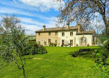 Thumbnail 4 bed farmhouse for sale in Loro Piceno, Loro Piceno, Macerata, Marche, Italy