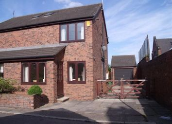 Thumbnail 3 bed semi-detached house to rent in Atkinson Court, Wakefield Road, Normanton