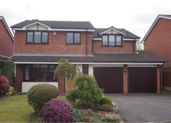 Thumbnail 4 bed detached house for sale in Pentire Road, Lichfield