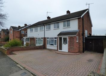 Thumbnail 3 bed semi-detached house for sale in Starling Way, Brickhill, Bedford, Bedfordshire
