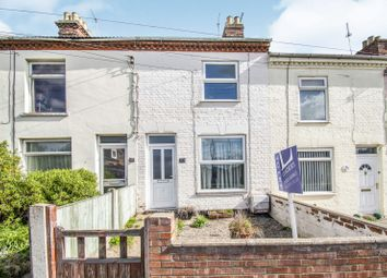 Thumbnail 3 bedroom terraced house to rent in Gorleston Road, Oulton Broad, Lowestoft