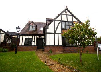 Thumbnail 4 bed detached house for sale in Frances Avenue, Wrexham