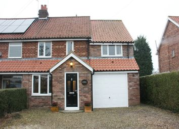 Thumbnail 3 bed semi-detached house for sale in Skates Lane, Sutton-On-The-Forest, York