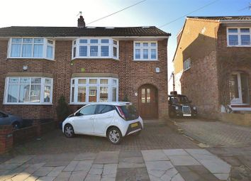 Thumbnail 4 bed semi-detached house for sale in Copthorne Avenue, Ilford