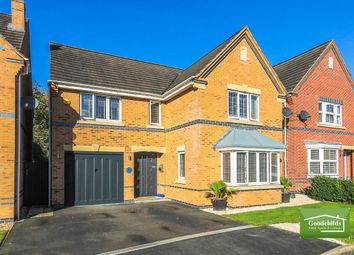 Thumbnail 4 bed detached house for sale in Curlew Drive, Watermead Grange, Brownhills