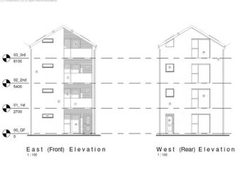 Thumbnail End terrace house for sale in Plot Of Land Castle Lane, Cardiff