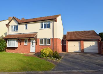 Thumbnail 4 bed detached house for sale in Pear Drive, Willand