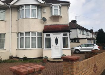 Thumbnail 3 bed semi-detached house for sale in St. Peters Road, Southall, Southall