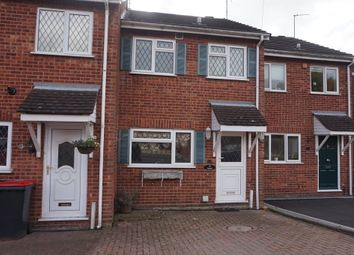 Thumbnail 2 bed terraced house for sale in Meadow Close, Kingsbury, Tamworth