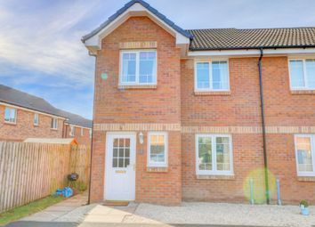 Thumbnail 3 bed end terrace house for sale in Keswick Drive, Dumfries