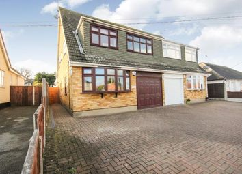 Thumbnail 4 bed semi-detached house for sale in Bowers Gifford, Basildon, Essex