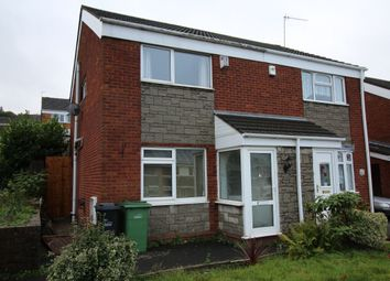 Thumbnail 3 bed semi-detached house for sale in Lyde Green, Halesowen