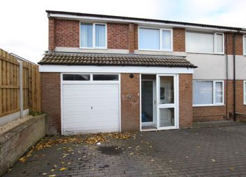 Thumbnail 5 bed semi-detached house for sale in Carvoran Way, Carlisle