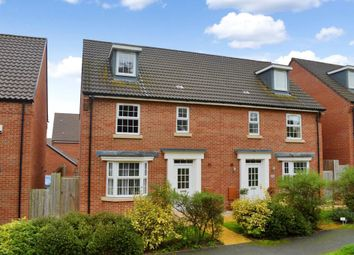 Thumbnail 4 bed semi-detached house for sale in Collett Road, Norton Fitzwarren, Taunton, Somerset