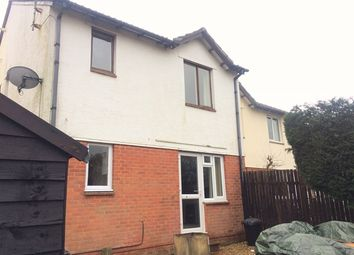 Thumbnail 2 bed end terrace house for sale in Steel Close, Honiton