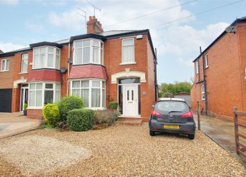 Thumbnail 3 bed semi-detached house for sale in Holme Church Lane, Beverley, East Yorkshire
