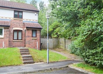 Thumbnail 2 bed end terrace house for sale in Willock Place, Glasgow