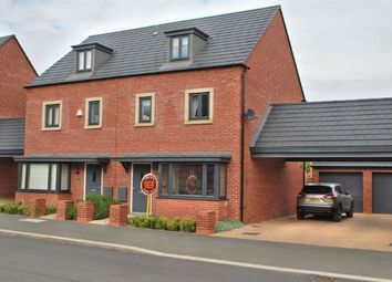 Thumbnail 4 bedroom town house for sale in Kent Road South, Duston, Northampton