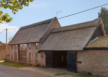 Thumbnail 5 bed barn conversion for sale in School Road, South Walsham, Norwich