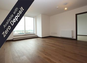 Thumbnail 2 bed flat to rent in Kitson House, Fletton Quays, Peterborough