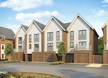 "Thumbnail 4 bedroom terraced house for sale in ""Lancaster Mid"" at Begbrook Park, Frenchay, Bristol"