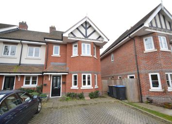 Thumbnail 4 bed end terrace house for sale in Knights Mead, Chertsey