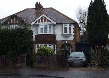 Thumbnail 3 bed semi-detached house to rent in Esher Road, East Molesey