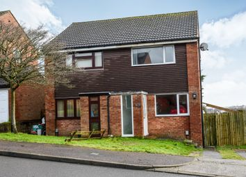 Thumbnail 2 bed semi-detached house for sale in Lydstep Road, Barry