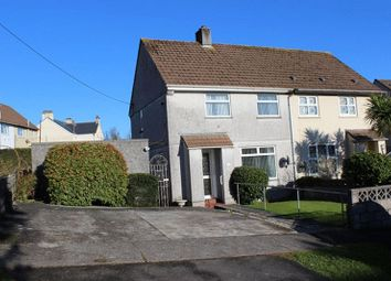 Thumbnail 2 bed semi-detached house for sale in Lostwood Road, St. Austell