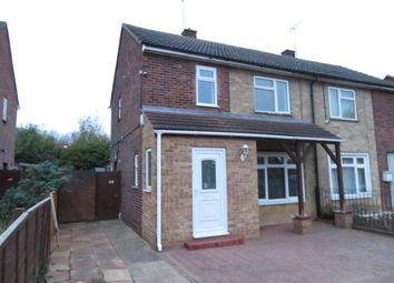 Thumbnail 3 bed semi-detached house to rent in Lavender Crescent, Peterborough