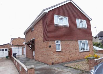 Thumbnail 4 bed detached house to rent in Owen Close, Leicester