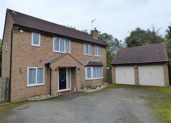 Thumbnail 4 bed detached house for sale in Scott Close, Daventry