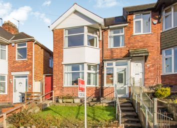 Thumbnail 3 bedroom town house for sale in Broad Avenue, Evington, Leicester