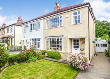 Thumbnail 3 bed semi-detached house for sale in Netherhall Road, Baildon, Shipley, West Yorkshire