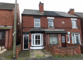 Thumbnail 2 bed end terrace house for sale in Ashby Road, Donisthorpe, Swadlincote
