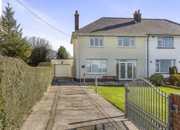 Thumbnail 4 bed semi-detached house to rent in Ty Fry Road, Cefn Cribwr, Bridgend