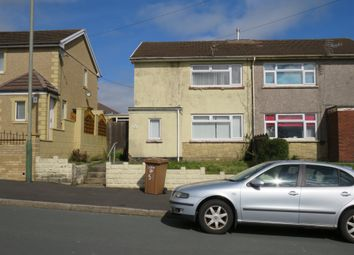 Thumbnail 2 bed semi-detached house for sale in St Marys Road, Pontllanfraith, Blackwood