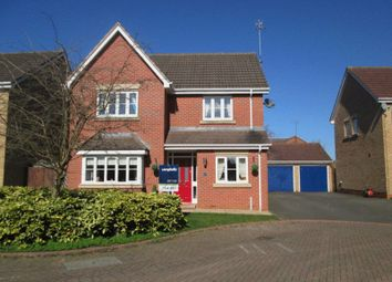 Thumbnail 4 bedroom detached house for sale in Wilson Close, Daventry